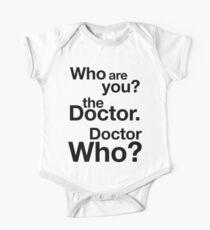 Doctor Who? Kids Clothes