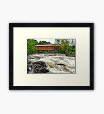 Sayers Bridge Framed Print