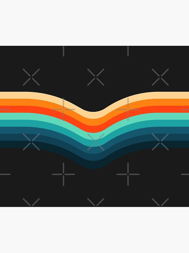 Retro Stripes by ind3finite