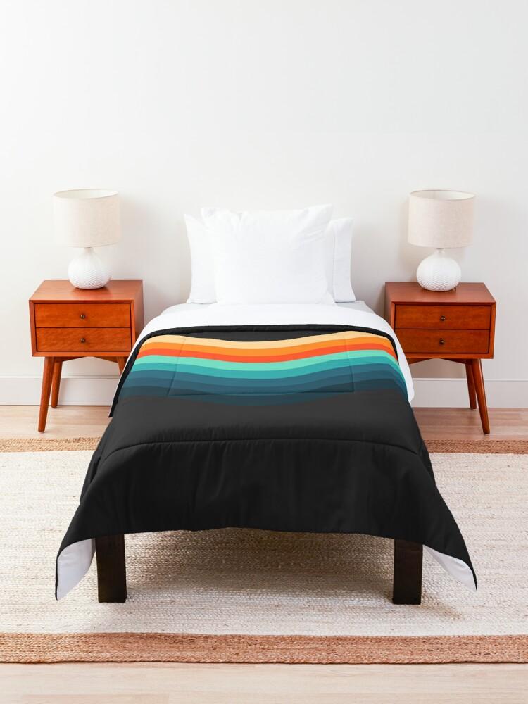 Alternate view of Retro Stripes Comforter