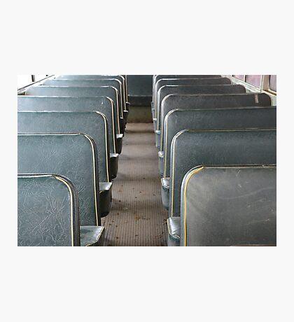 School bus days Photographic Print