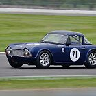 Triumph TR4 No 71 by Willie Jackson