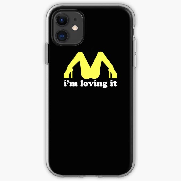 I love this t-shirt, for men and women McDonald's lovers iPhone Soft Case