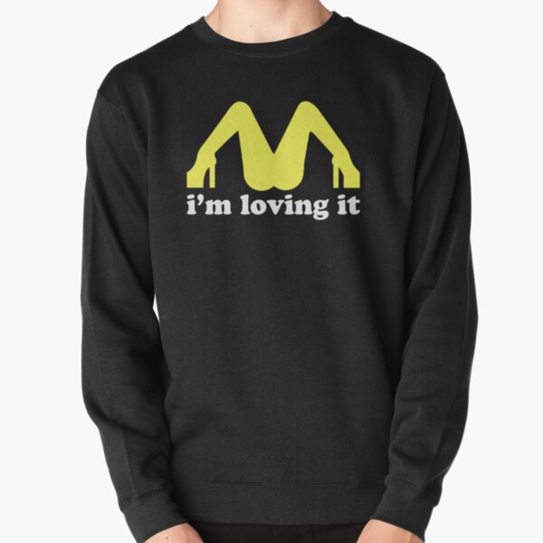 I love this t-shirt, for men and women McDonald's lovers Pullover Sweatshirt