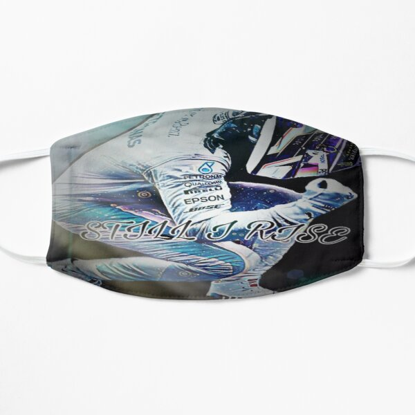 Lewis Hamilton F1 2020 hommage-STILL I RISE Masque sans plis