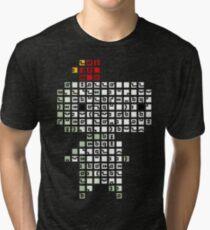 Fez Tiles Tri-blend T-Shirt