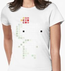 Fez Tiles Womens Fitted T-Shirt