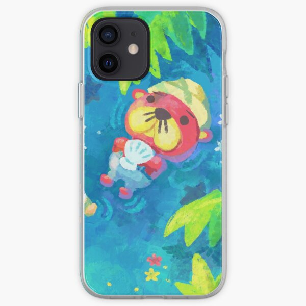 Pascal and I - Animal Crossing Coque souple iPhone