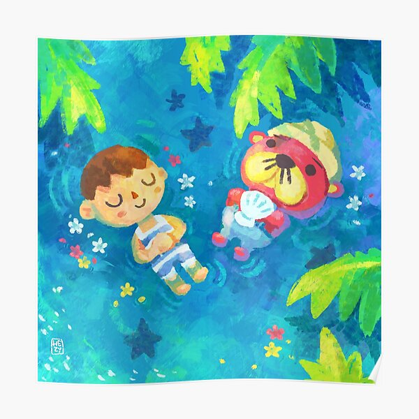 Pascal and I - Animal Crossing Poster