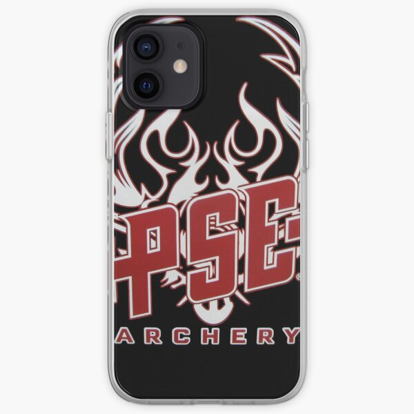 PSE Archery Red White Custom Logo Arrow iPhone Soft Case
