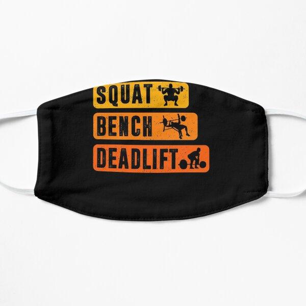 SQUAT BENCH DEADLIFT Powerlifter Bodybuilding Fitness Shirt Mask
