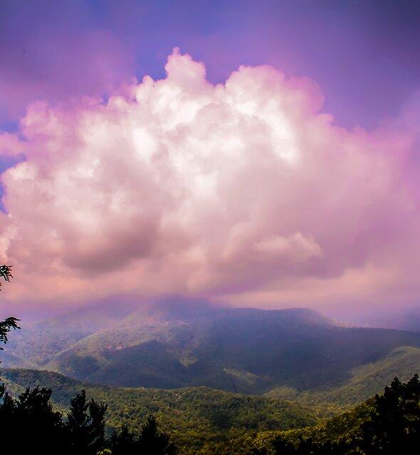 blue ridge parkway clouds by ALEX GRICHENKO