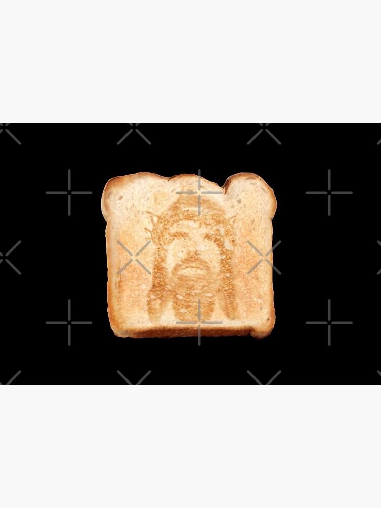 Jesus on toast by DotorEaon