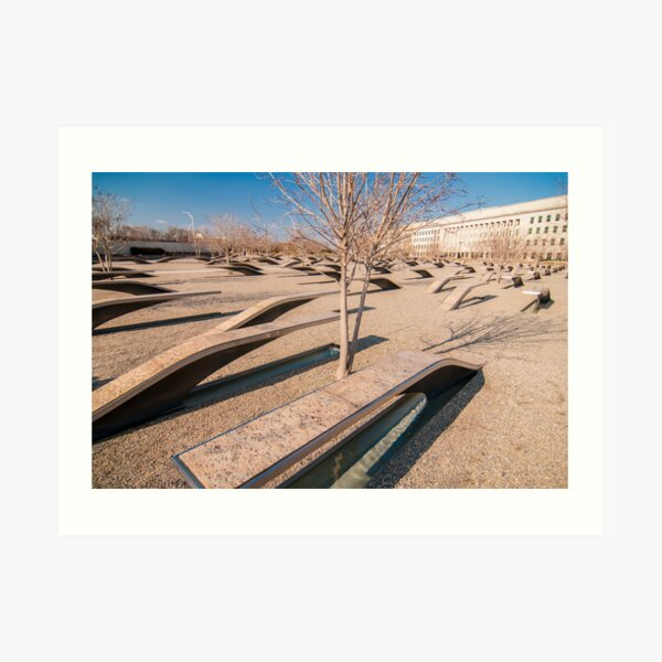 pentagon memorial Art Print
