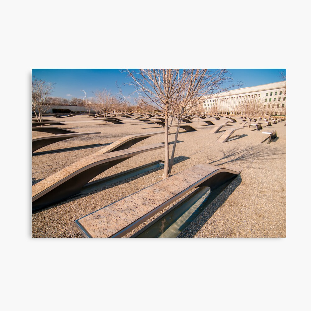 pentagon memorial Canvas Print
