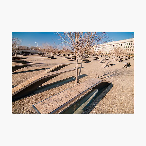 pentagon memorial Photographic Print