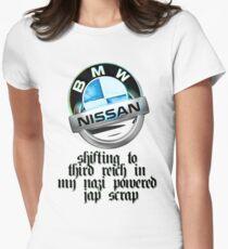third reich upshift :D Women's Fitted T-Shirt