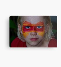 The Face of Fire Metal Print