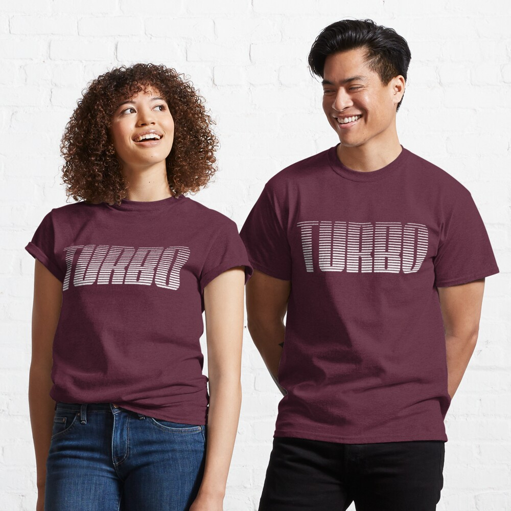 Turbo Gradient Fade Classic T-Shirt