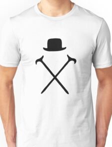 Bowler Hat and Canes T Shirt Unisex T-Shirt