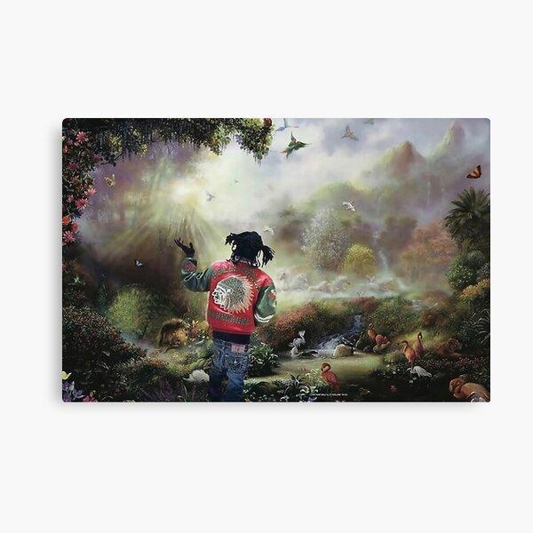 Paradise Garden Of Eden keef Canvas Print