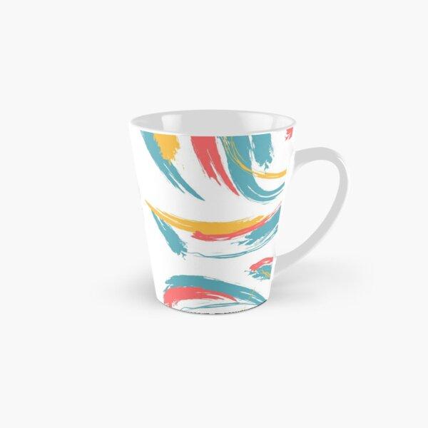 Patterned Tie Dye Tall Mug
