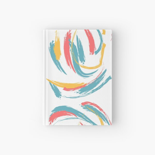 Patterned Tie Dye Hardcover Journal