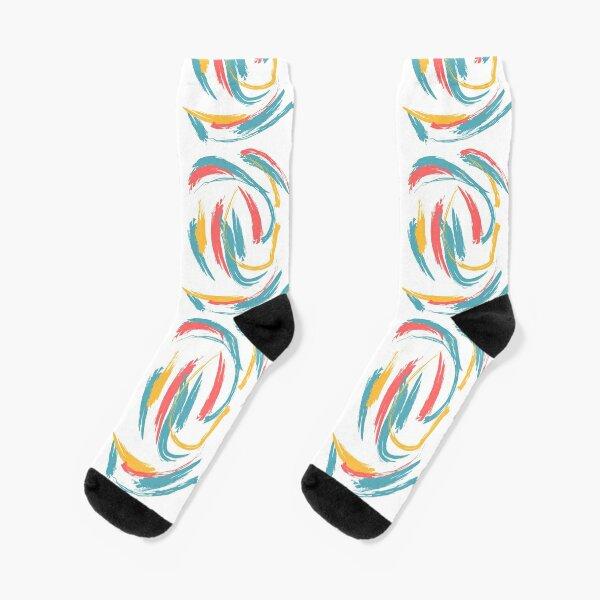 Patterned Tie Dye Socks