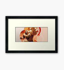 The Russian Wrestler Framed Print