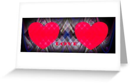 Sweethearts  card  by Forfarlass