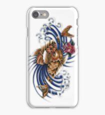 Gemini Koi Fish Art iPhone Case/Skin