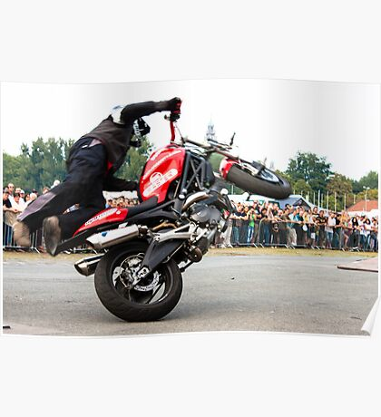motorcycle stunt 008 Poster