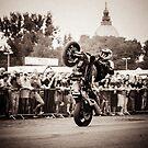 motorcycle stunt 010 by dirk hinz