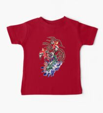 Glowing koi and sparrows Baby Tee