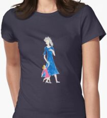 Child of the TARDIS 3-Womens Womens Fitted T-Shirt