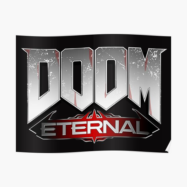 Doom Eternal Posters Redbubble