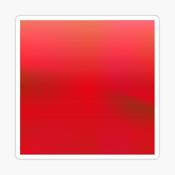 dark red Sticker