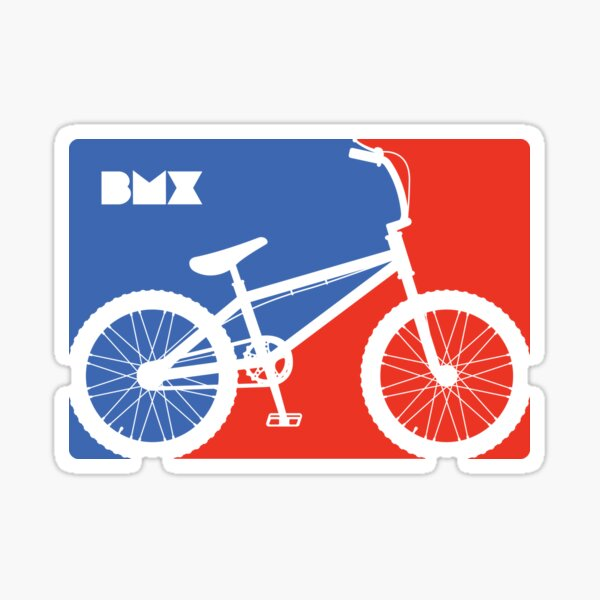 handcrafted decal Super LA old school bmx