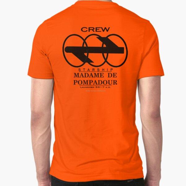 SS Madame De Pompadour - Crew Wear Slim Fit T-Shirt
