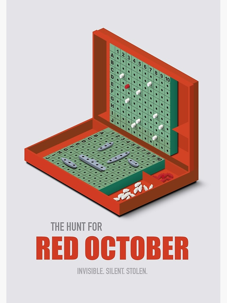 The Hunt for Red October - Alternative Movie Poster by MoviePosterBoy