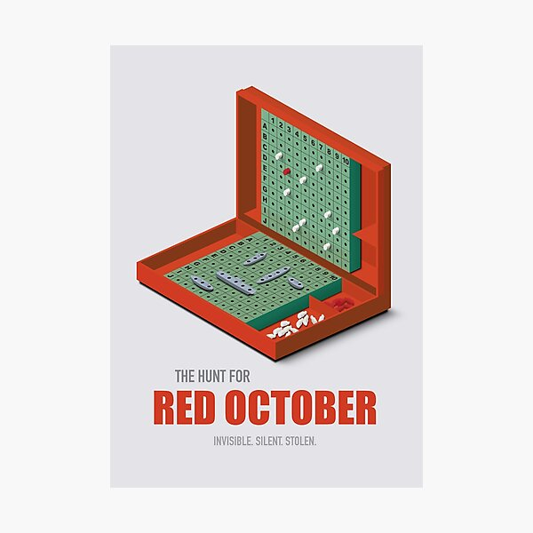 The Hunt for Red October - Alternative Movie Poster Photographic Print