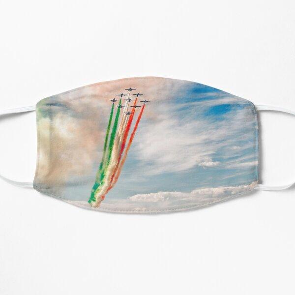 Airshow of Frecce Tricolori Flat Mask