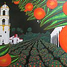 Parade of Oranges 2 by Guy Wann