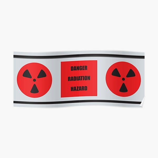 Space: 1999 Nuclear Waste Cylinder Poster