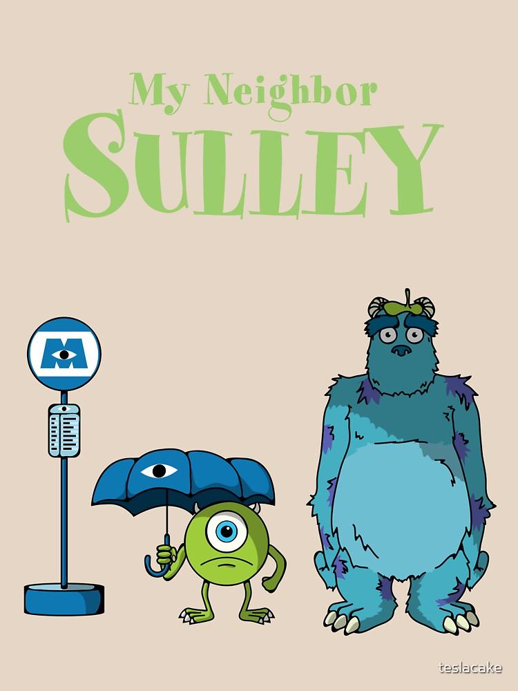 Mi vecino Sulley de teslacake