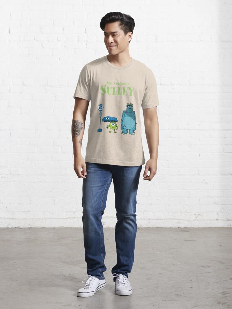 Vista alternativa de Camiseta esencial Mi vecino Sulley