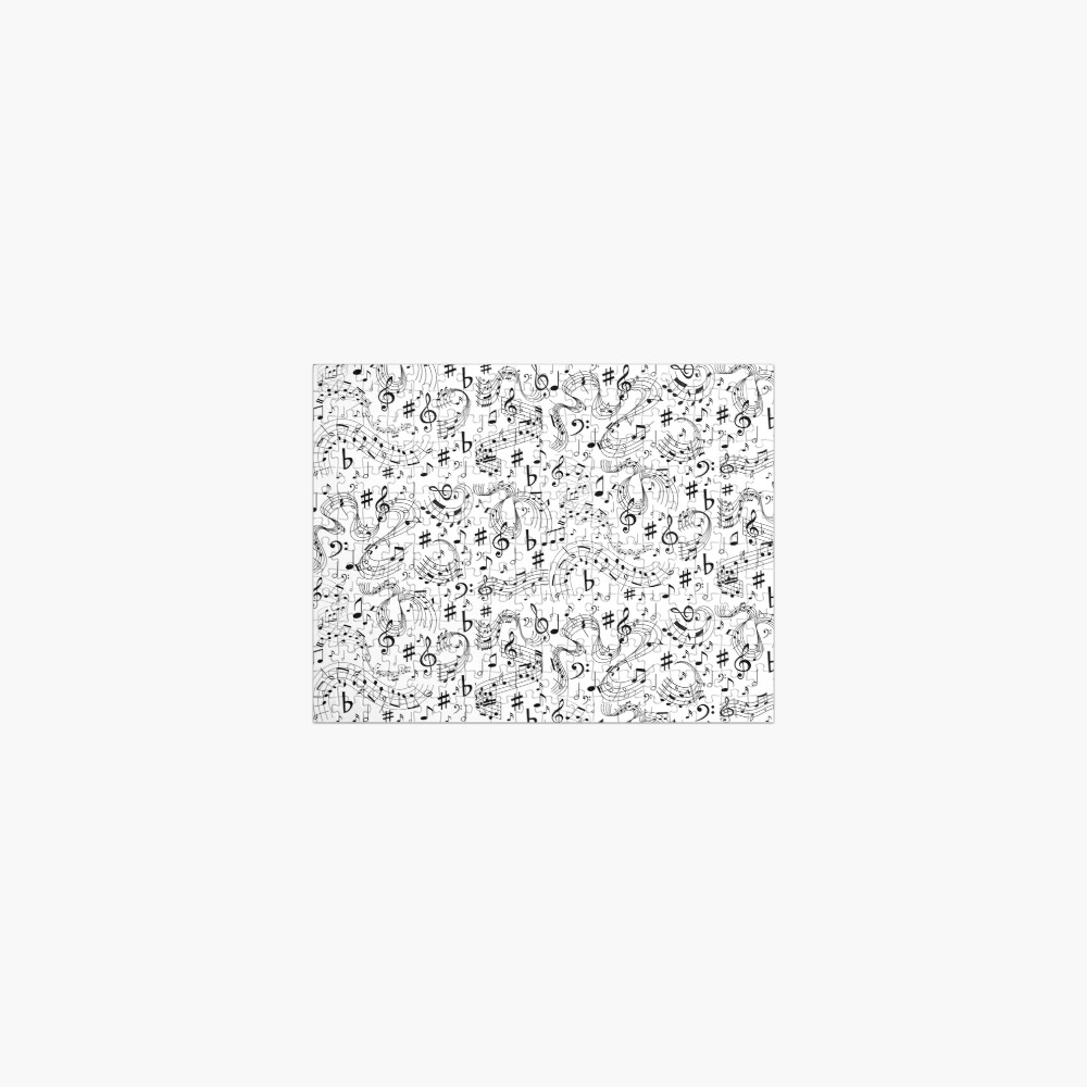 Music, Musical Notes Jigsaw Puzzle