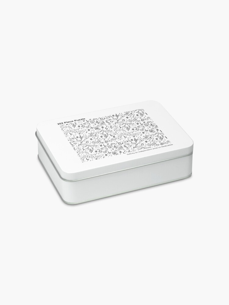 Alternate view of Music, Musical Notes Jigsaw Puzzle