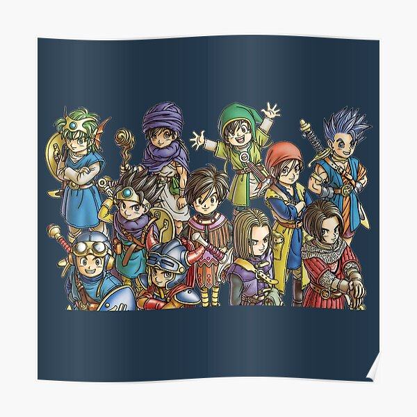 Dragon Quest Heroes Poster