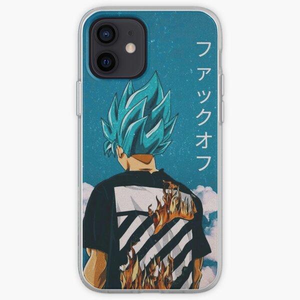 Goku Blue Trip iPhone Soft Case